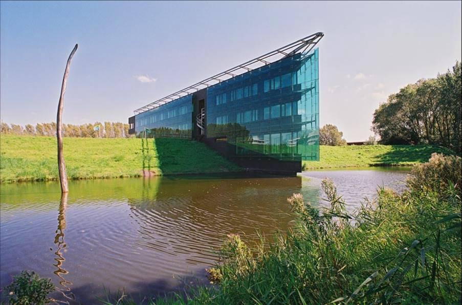 Zdenek Zavrel - Budova Správy silničního okruhu - Amsterdam - 1